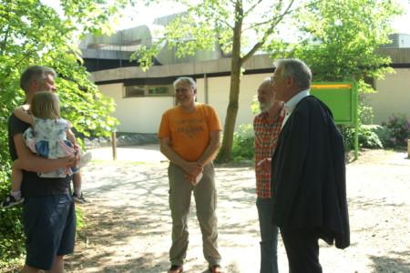 Dirk-Ulrich Mende, Hans Peter Hauschild und Mario Kaeber