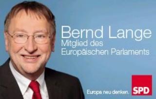 Banner Bernd Lange 2014